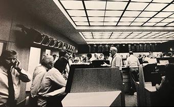 Alter Rentenhandelssaal 80er Jahre