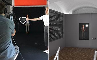 Shooting der Personas für die Ausstellung