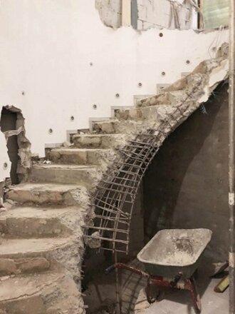 Neue Treppe Börse